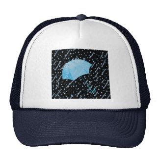 BLUE UMBRELLA SHOWERS OF LOVE by SHARON SHARPE Cap
