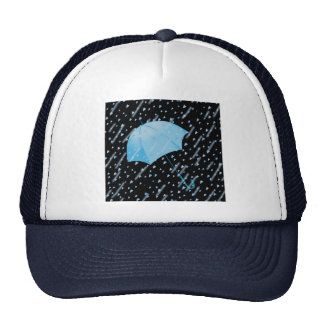 BLUE UMBRELLA SHOWERS OF LOVE by SHARON SHARPE Hats