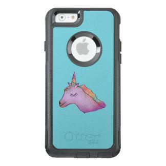 Blue unicorn phone case