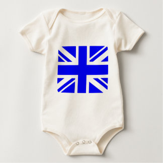 Blue Union Jack Baby Bodysuit
