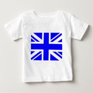 Blue Union Jack flag Baby T-Shirt