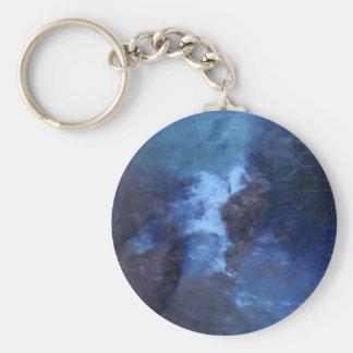 BLUE UNIVERS ABSTRACT KEY CHAIN