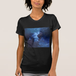 """BLUE UNIVERS ABSTRACT"""" T-SHIRT"""