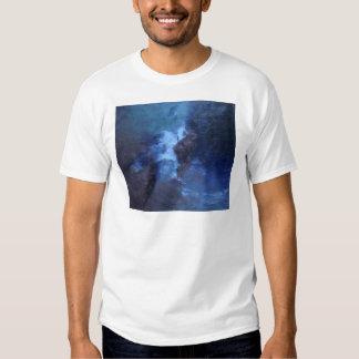 "BLUE UNIVERS ABSTRACT"" TSHIRT"