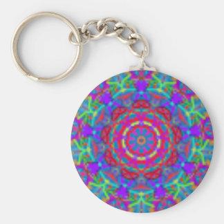 Blue Universe Mandala Keychain