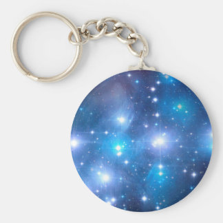 Blue Universe Stars + your ideas Keychains