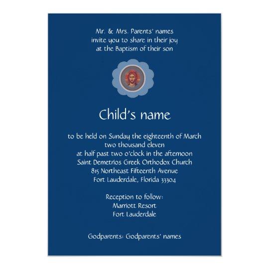 Blue Vaftisi Card