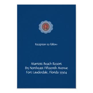 Blue Vaftisi Reception Card
