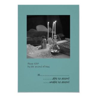 Blue Vaftisi RSVP Card