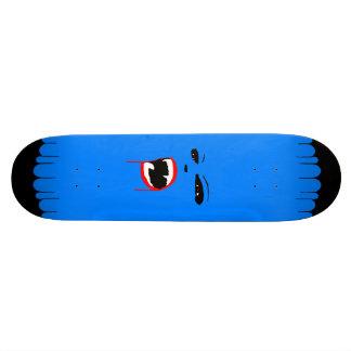 Blue Vamp Custom Skateboard