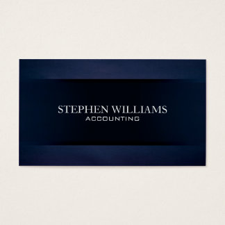 Blue Velvet Business Card