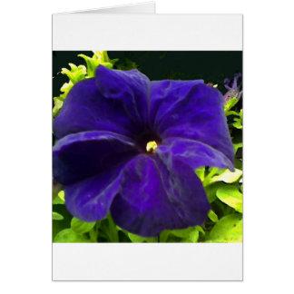 Blue Velvet Card
