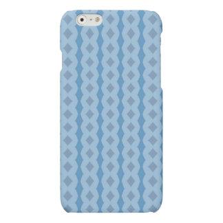 Blue vertical pattern iPhone 6 plus case