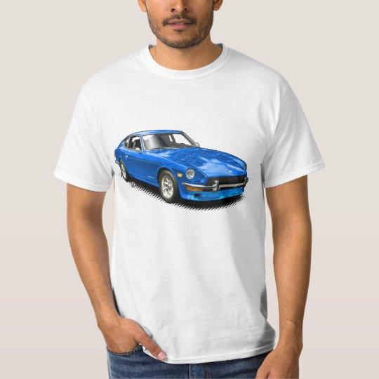 Blue Vintage Classic Z-Car T-Shirt. T-Shirt