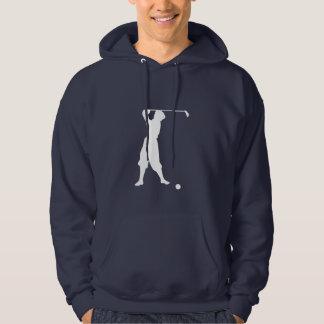 Blue Vintage Golfer Hoodie