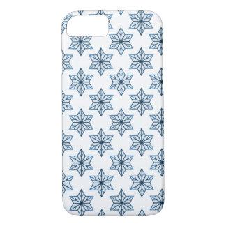 Blue Vintage Starburst BT iPhone 7 Case