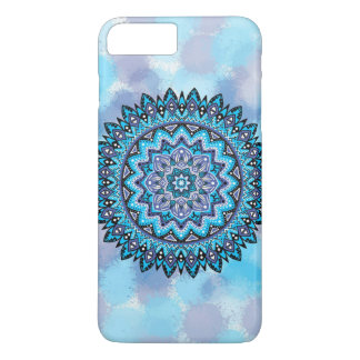 Blue violet mandala iPhone 8 plus/7 plus case