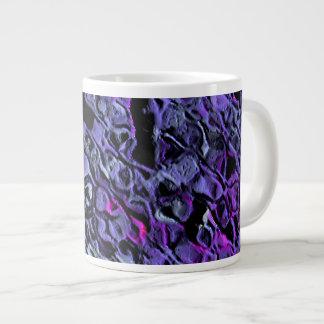 """""""Blue-Violet Swarm"""" Jumbo Mug"""