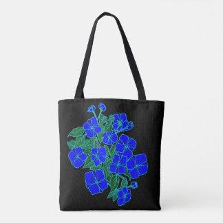 Blue Violets #1 Tote Bag