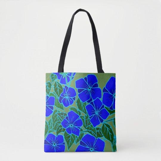 Blue Violets #6 Tote Bag