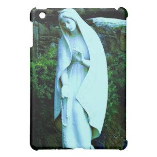Blue Virgin Mary Statue iPad Mini Cover