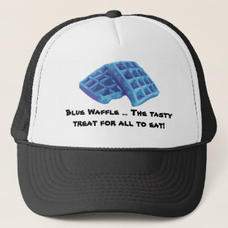 Blue Waffle - Tasty Treat Trucker Hat
