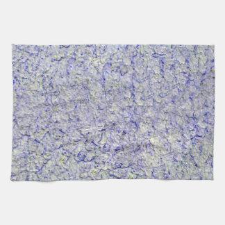 Blue wall background tea towel