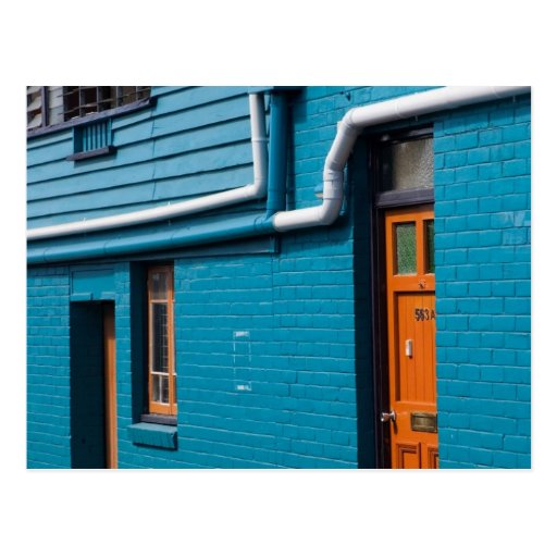 Blue Wall Postcards