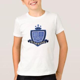 Blue Warrior badge design Tshirts