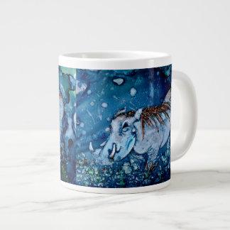 Blue Warthog Giant Coffee Mug