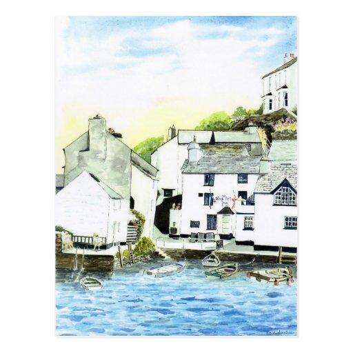 'Blue Water, Blue Peter' Postcard