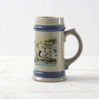 'Blue Water, Blue Peter' Stein Beer Steins