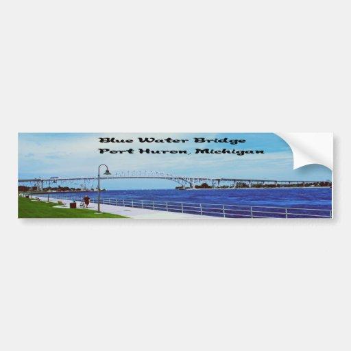 Blue Water Bridge memorabilia Bumper Sticker