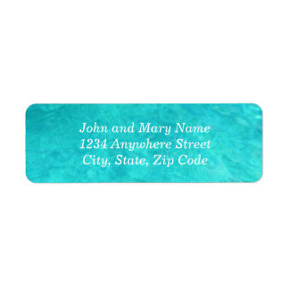 Blue Water Color Address