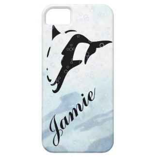 blue water DOLPHIN  iphone covers