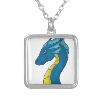 Blue Water Dragon Custom Necklace