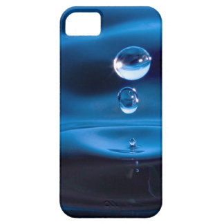 Blue Water Drops iPhone 5 Case