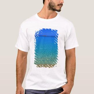 Blue water, Exuma Islands, Bahamas. T-Shirt