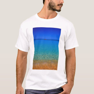 Blue water, Exuma Islands, Bahamas. T-Shirt