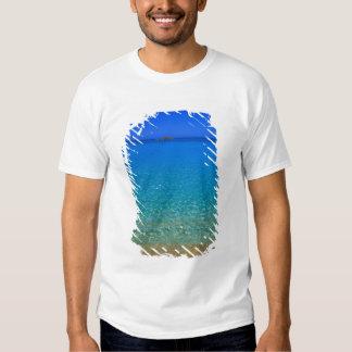 Blue water, Exuma Islands, Bahamas. Tee Shirts