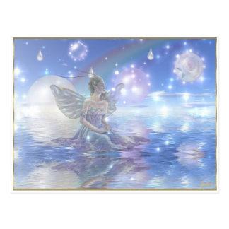 Blue Water Fairy Postcard