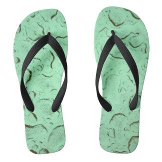 Blue Water Flip Flops Sandals