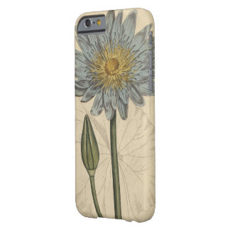 Blue Water Lily Barely There iPhone 6 Case