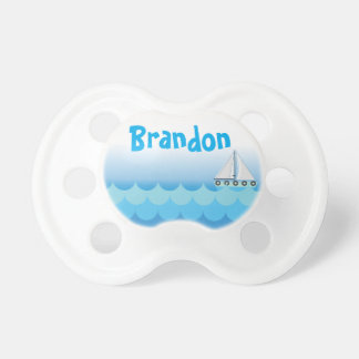 Blue Water Ocean Sea Sailing Sailboat Personalized Dummy
