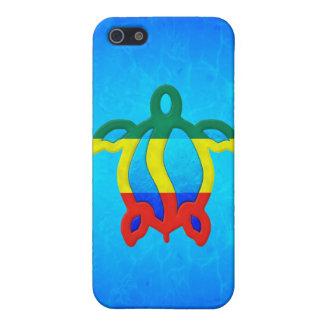 Blue Water Rasta Honu Case For iPhone 5/5S
