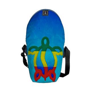 Blue Water Rasta Honu Courier Bag