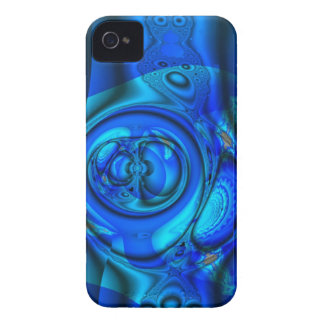 Blue water stream, abstract iPhone 4 Case-Mate case