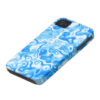 Blue Water texture iPhone 4 Case-Mate Case