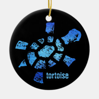 Blue Water Turtle Ornament