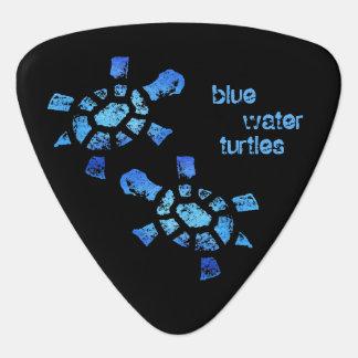Blue Water Turtles Plectrum